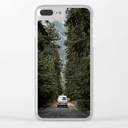 Van Life Clear iPhone Case