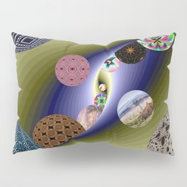 Tunnel Ball Pillow Sham