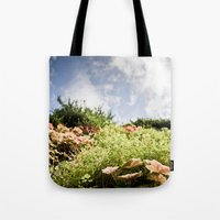 fairy tale Tote Bags featuring Fairy Tale by Tom Radenz