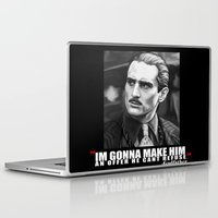 the godfather Laptop & iPad Skins featuring Godfather by Org Mag