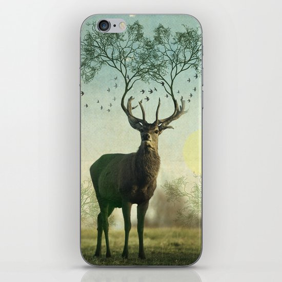 Evergreen Stage Horn iPhone & iPod Skin