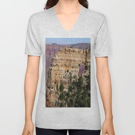 Angel's Window At Cape Royal Grand Canyon Unisex V-Neck
