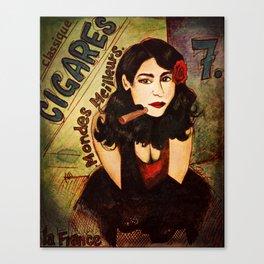 Cigares Canvas Print