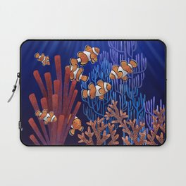 Clown Fish tank Laptop Sleeve