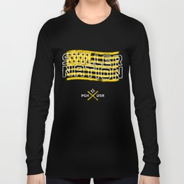Stiller Nation Black Long Sleeve T-shirt