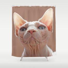 Sphinx Cat Shower Curtain