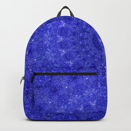 Cosmos Mandala II Cobalt Blue Backpack