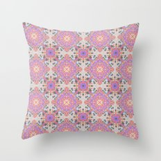 Faded Moroccan Throw Pillow