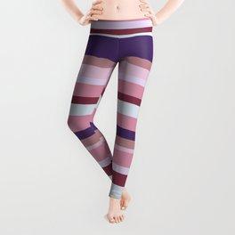 Retro mood stripes Leggings