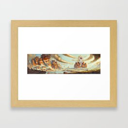 Temple of Spirit Framed Art Print