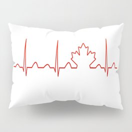 CANADA IN MY HEARTBEAT Pillow Sham