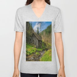 Watermill Life in the Country Unisex V-Neck