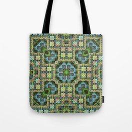 """""""Needlepoint Sampler"""" (3D Fractal) Tote Bag"""