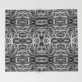 Life Cycle BW1 Throw Blanket