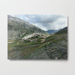 Mountains of Switzerland - Greina High Plain Granite Formation Metal Print