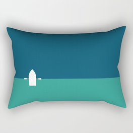 The place where two oceans meet Rectangular Pillow