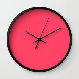Magic Potion - solid color Wall Clock