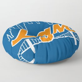 Let's Go Mets Floor Pillow