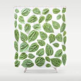 Leaves pattern (28) Shower Curtain
