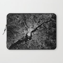 philadelphia map Laptop Sleeve