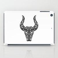 taurus iPad Cases featuring Taurus by Mario Sayavedra