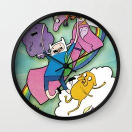 Finn Jake and Friends Wall Clock
