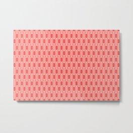 Pink Mod Pods Metal Print