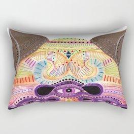watch my lips mask Rectangular Pillow