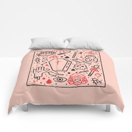 Good Clean Horror Comforters