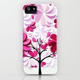 Tree of love iPhone Case