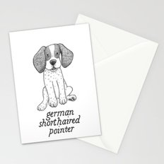 Dog Breeds: German Shorthaired Pointer Stationery Cards