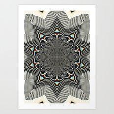 Full Om Mandala Art Print