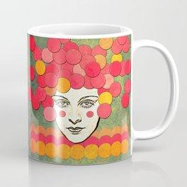 messed face Coffee Mug