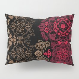 Ethnic Floral Vector Ornament Pillow Sham