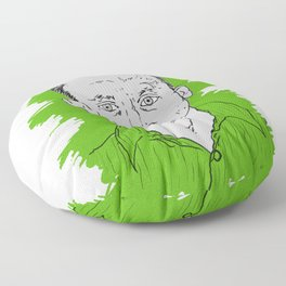 Compulsive Liar, Punching Bag, Anti-Hero:  Benjamin Linus Floor Pillow