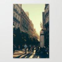 madrid Canvas Prints featuring Madrid by Mario Pantoja