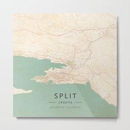 Split, Croatia - Vintage Metal Print