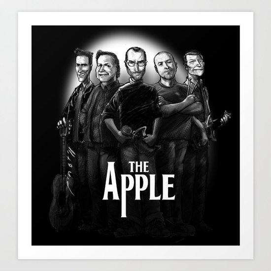 The Apple Band Art Print