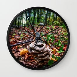 Nature gives me new life Wall Clock
