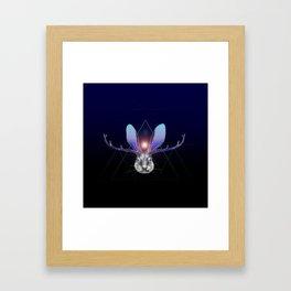 Cosmic Jackalope Framed Art Print