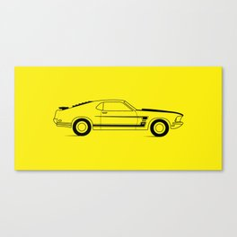 Mustang Boss Canvas Print
