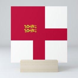 Sark flag emblem Mini Art Print