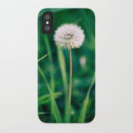 Fluffy Flower iPhone Case