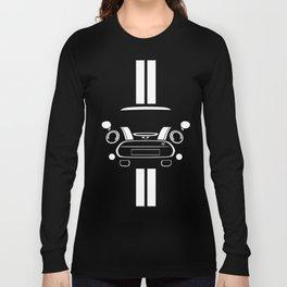 Mini Cooper T Shirt (Black/White stripes) Long Sleeve T-shirt