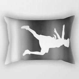 Body Movin - Jump BW Inverse Rectangular Pillow