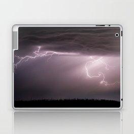 Summer Lightning Storm On The Prairie VI - Nature Landscape Laptop & iPad Skin