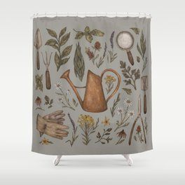 Gardening Shower Curtain