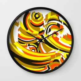Seigaiha Series - Camaraderie Wall Clock