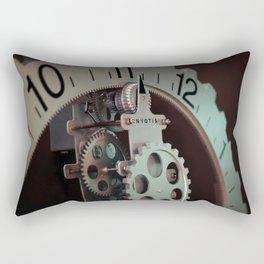 vintage clock_27 Rectangular Pillow