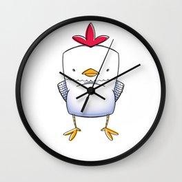 Chicken Chick Wall Clock